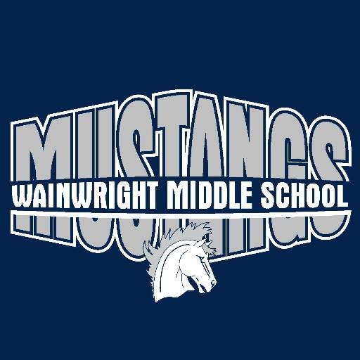 Wainwright Middle School Mustangs Logo